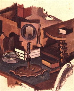 Corner of a Table: Study for 'The Conjugale Life', 1912 Reprodukcija