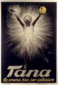 Advertisement for Tana shoe polish by Leonetto Cappiello , poster, 1925 Reprodukcija