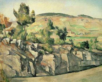 Hillside in Provence, c.1886-90 Reprodukcija
