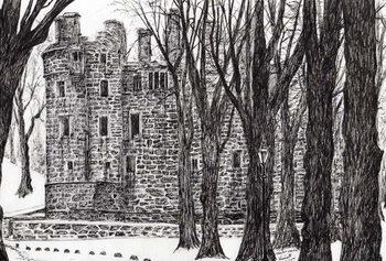 Huntly Castle Scotland, 2007, Reprodukcija