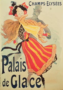 'Ice Palace', Champs Elysees, Paris, 1893 Reprodukcija