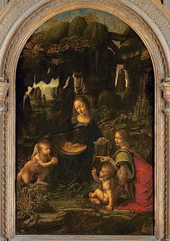 Madonna of the Rocks, c.1478 Reprodukcija