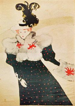 Poster advertising 'La Revue Blanche', 1895 (colour litho) Reprodukcija
