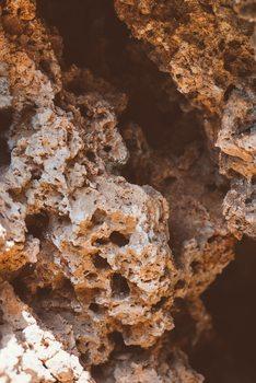 Ekskluzivna fotografska umetnost Red desert rocks