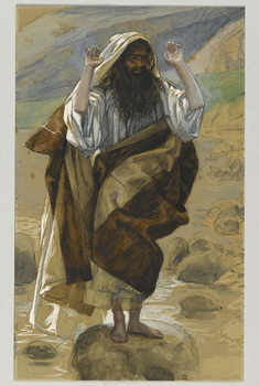 Saint Thaddeus, illustration from 'The Life of Our Lord Jesus Christ' Reprodukcija