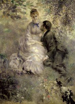 The Lovers, c.1875 Reprodukcija