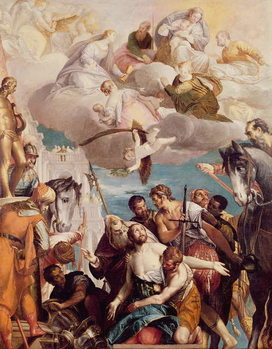 The Martyrdom of St. George Reprodukcija