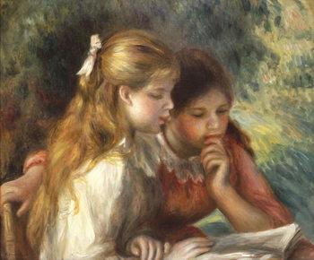 The Reading, c.1890-95 Reprodukcija