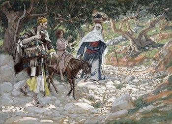 The Return from Egypt, illustration for 'The Life of Christ', c.1886-94 Reprodukcija