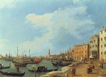 The Riva Degli Schiavoni, 1724-30 Reprodukcija