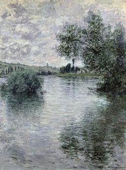 The Seine at Vetheuil, 1879 Reprodukcija