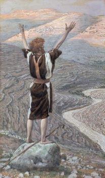 The Voice in the Desert, illustration for 'The Life of Christ', c.1886-96 Reprodukcija