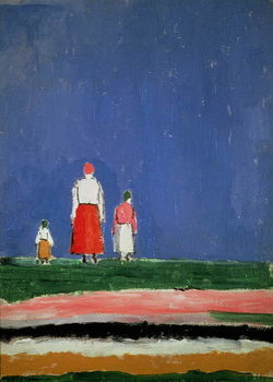 Three Figures, 1913-28 Reprodukcija