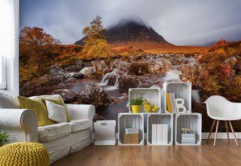 Fotomural Autumn In The Glencoe