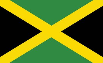 Fotomurale  Bandera Jamaica