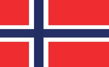Fotomural  Bandera Noruega