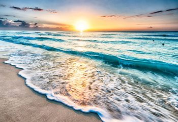 Fotomural Beach Sunset