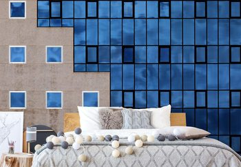 Fotomural Blue Windows