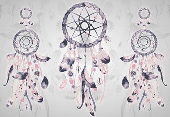 Fotomural Boho-Chic Dreamcatchers