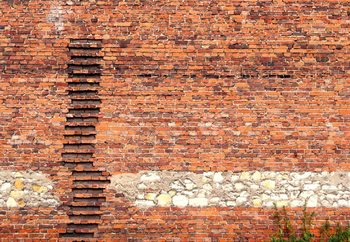 Fotomurale  Brick Ladder