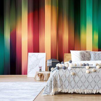 Fotomural Colourful Light Streaks Modern Design