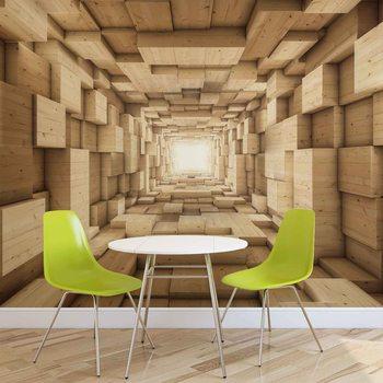 Fotomural Diseño abstracto moderno 3D