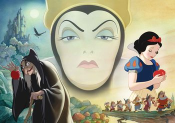 Fotomurale  Disney Blanca Nieves Buena Reina Mala