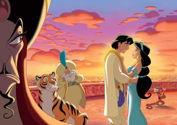 Fotomurale  Disney Princesses Jasmine Aladdin