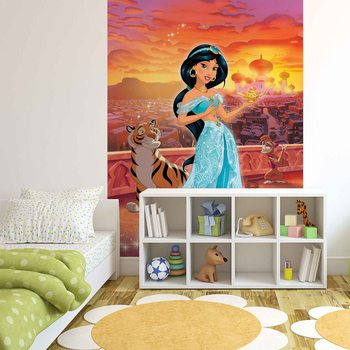 Fotomurale Disney Princesses Jasmine