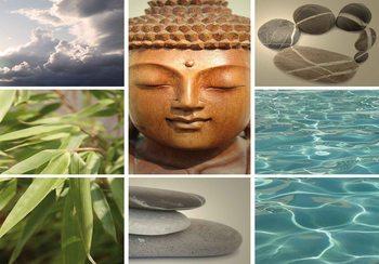 Fotomural Escena calmante del zen