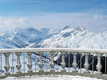 Fotomural  Escena de montaña