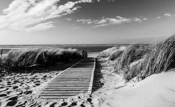 Fotomural Escena de playa