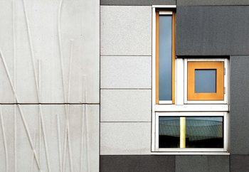 Fotomurale  Facade Geometry