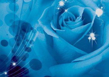 Fotomural Flor rosa
