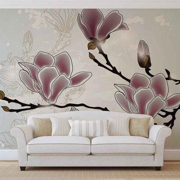 Fotomural Flores Magnolia Branch