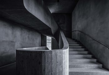 Fotomural Im Treppenhaus