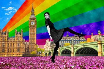 Fotomural London Pride, 2017,