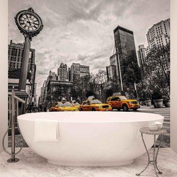 Fotomurale Nueva York Cabs