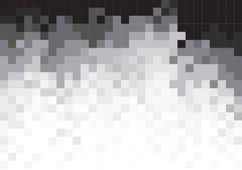 Fotomurale  Patron abstracto Blanco Negro