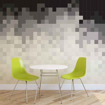 Fotomural Patron abstracto Blanco Negro