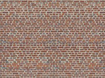 Fotomurale Red Brick Wall