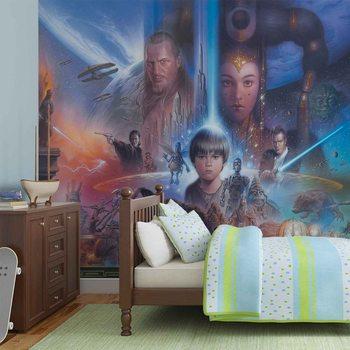 Fotomurale Star Wars Jovenes Anakin Reina Amidala