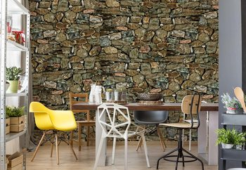 Fotomural  Stone Wall