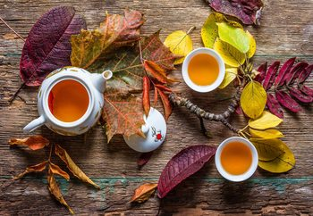Fotomural Tea Of September