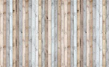 Fotomurale  Textura de tablones de madera