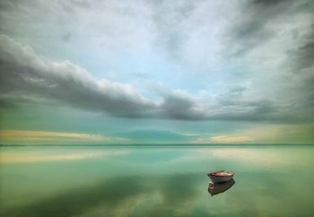 Fotomural  The Boat