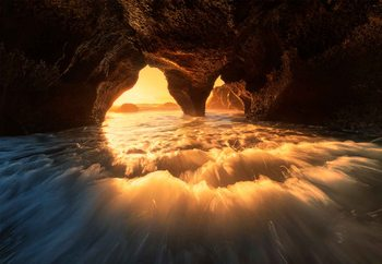 Fotomural  The Secret Sea Cave