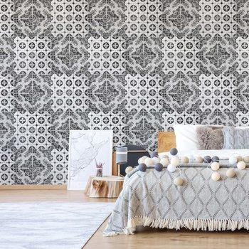 Fotomural Vintage Tile Pattern