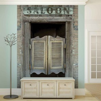 Fotomurale Western Saloon Bar Doors