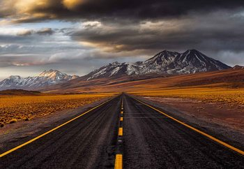 Fotomurale Yellow Road